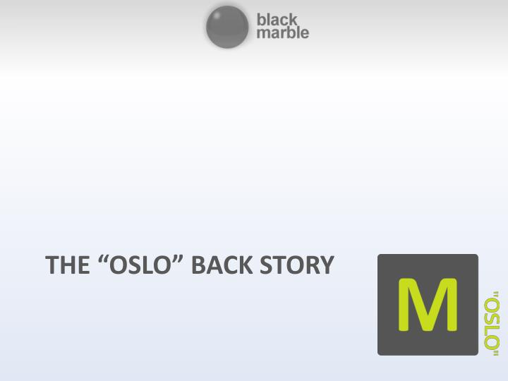 the oslo back story n.