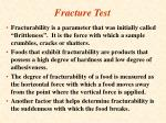 fracture test