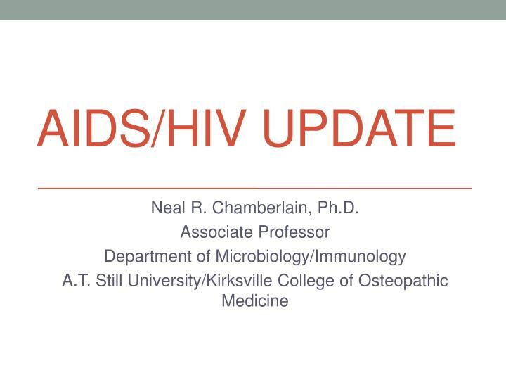 Aids hiv update