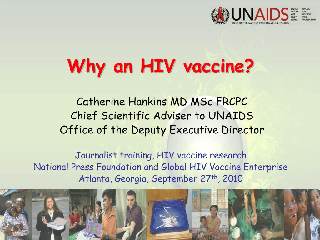 why an hiv vaccine l.