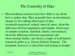 the centrality of data3