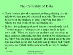 the centrality of data4