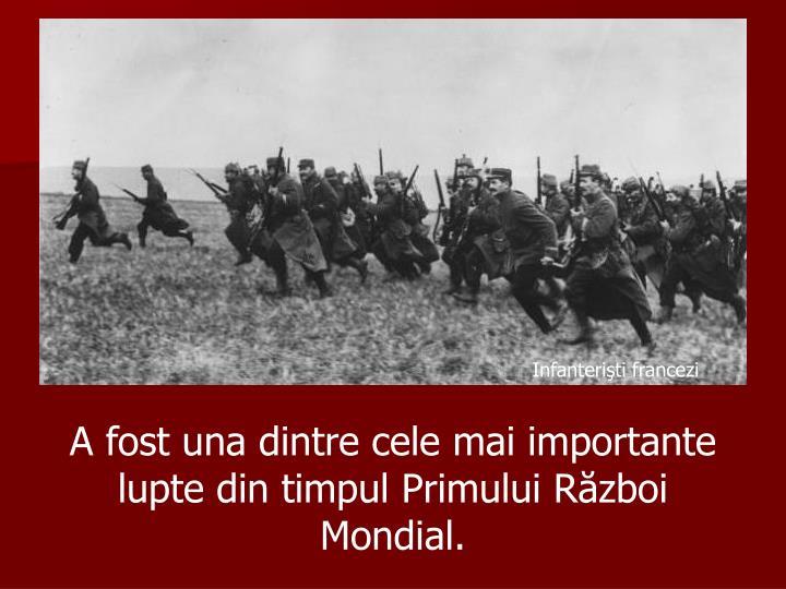 Infanterişti francezi