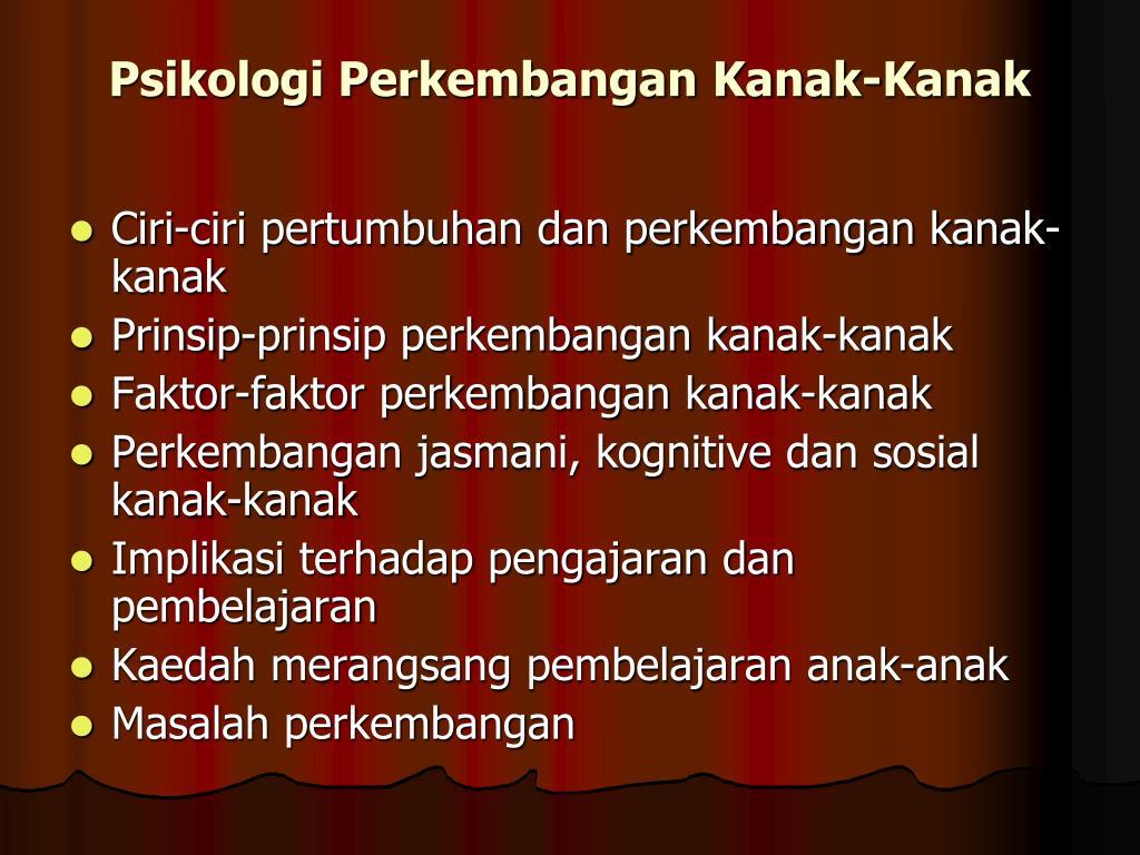 Ppt Psikologi Perkembangan Kanak Kanak Symposium Andalus 2011 Powerpoint Presentation Id 1469796