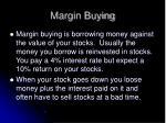 margin buying