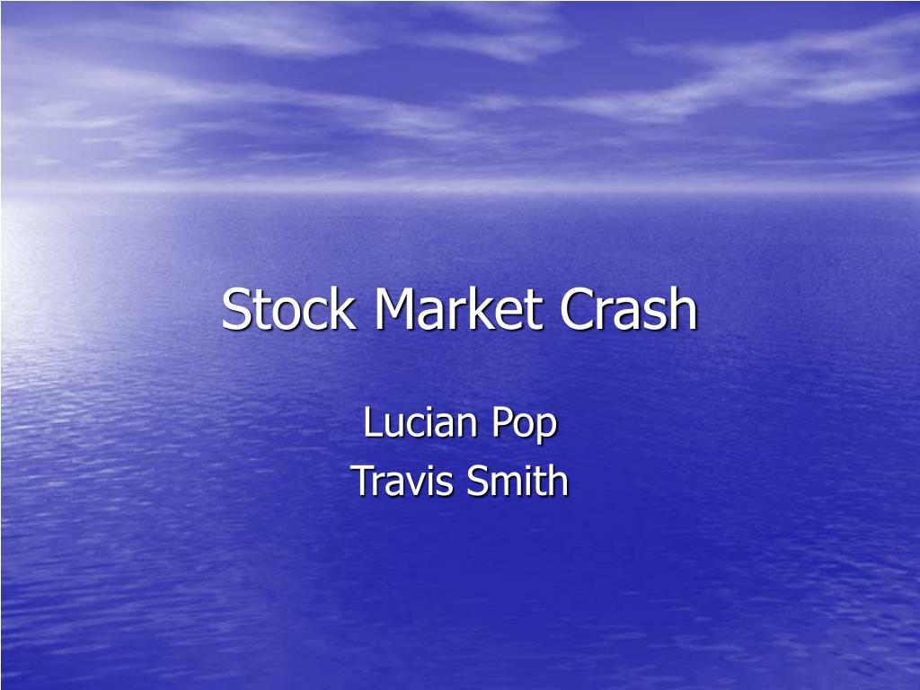 stock market crash l.