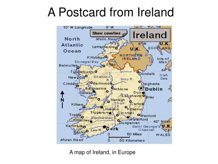 a postcard from ireland n.