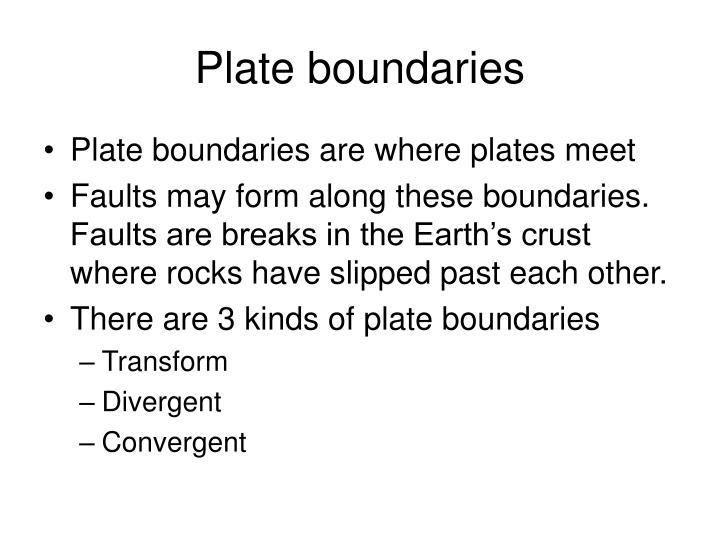 a discussion on various theories of plate tectonics The worksheet contains a different set of more detailed questions that you will answer and turn in read the plate tectonics basics page it will acquaint you with many concepts in plate tectonic theory and contains a specific section on paleomagnetism that will assist you in completing this lab.