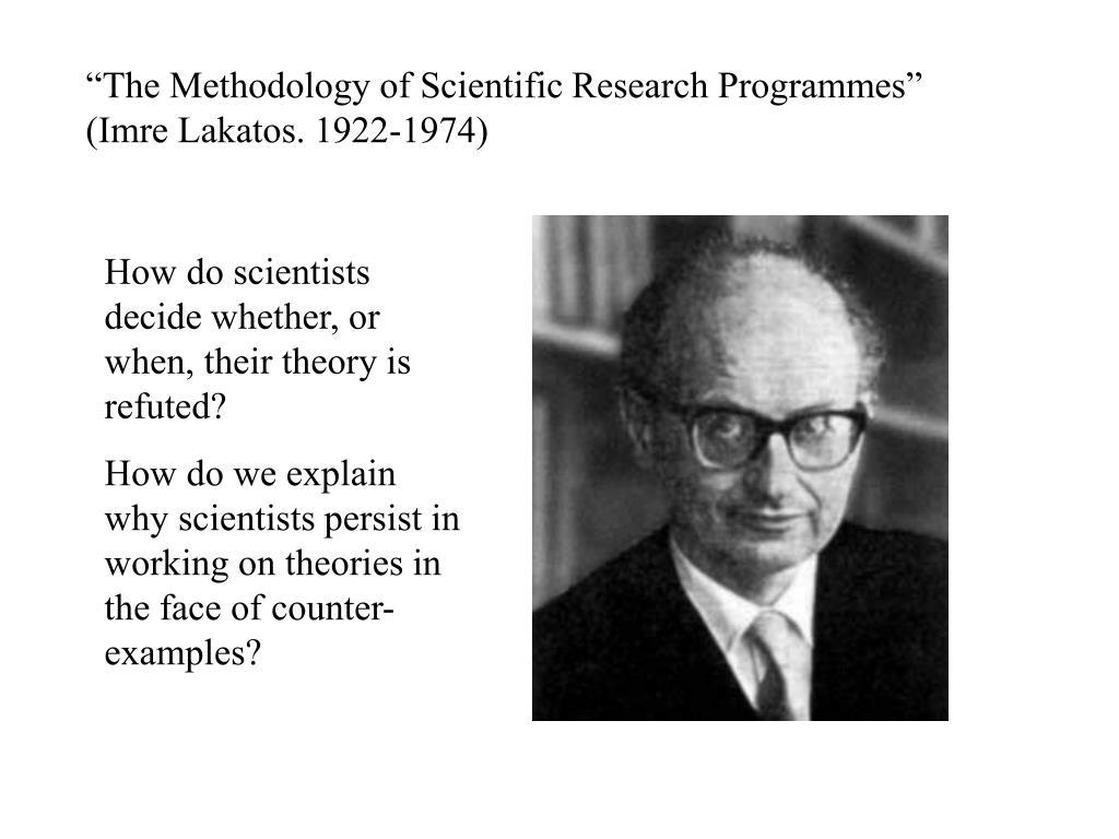 """The Methodology of Scientific Research Programmes"" (Imre Lakatos. 1922-1974)"