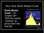 new york stock market crash1