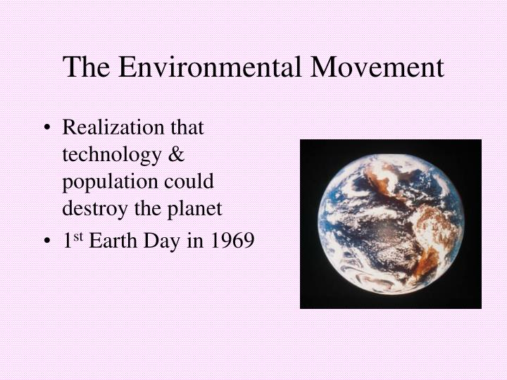 The Environmental Movement