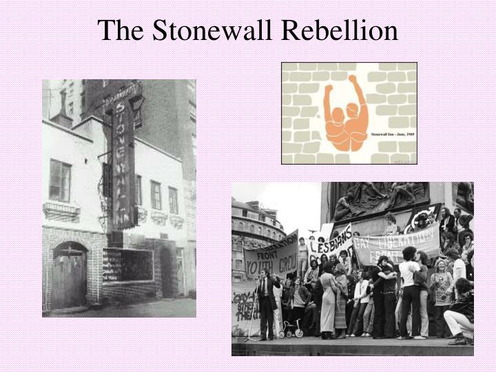 The Stonewall Rebellion