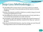 stop loss methodology 3 of 5