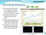 technical analysis 3 of 6