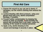 first aid care1