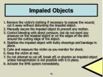 impaled objects