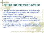 foreign exchange market turnover