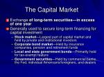the capital market