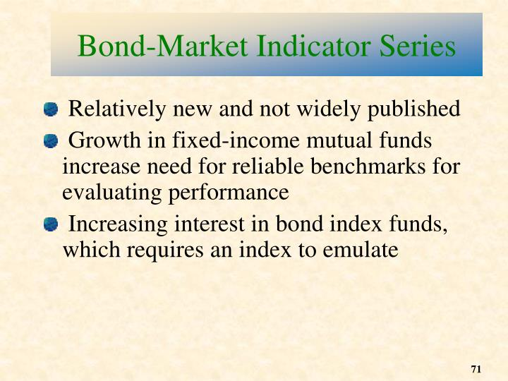 Bond-Market Indicator Series