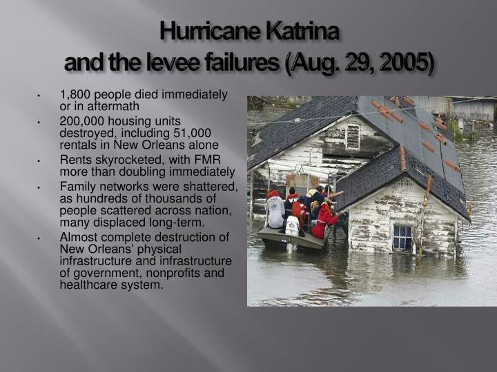 the healthcare infrastructure of post katrina new As the third anniversary of hurricane katrina approaches, the health care system in new orleans and the gulf coast shows encouraging signs of recovery, reports a special august issue of the american journal of the medical sciences.