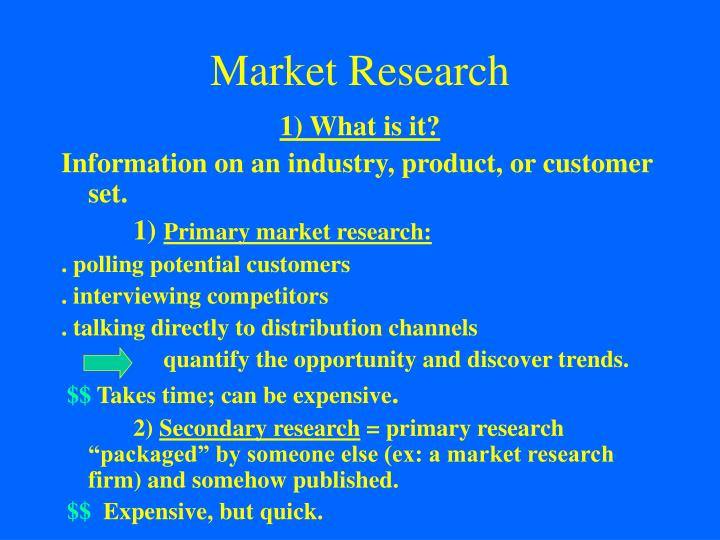 Market research1