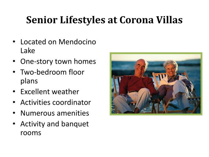 Senior Lifestyles at Corona Villas