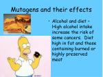 mutagens and their effects3