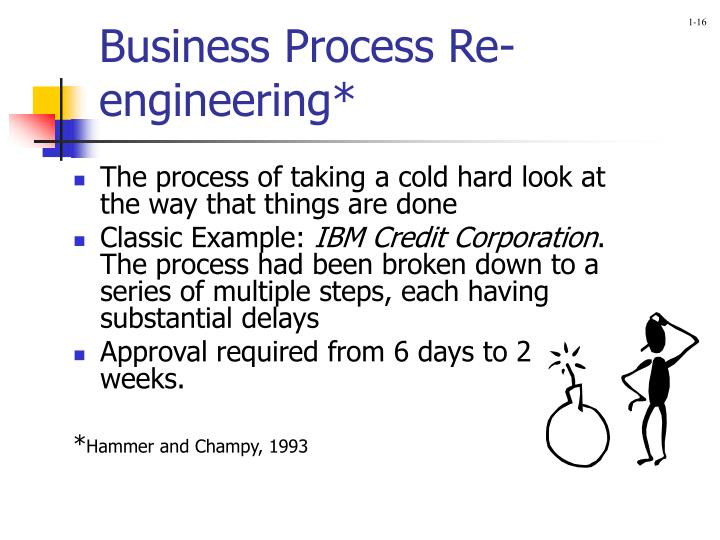 Business Process Re-engineering*