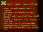 country fiduciary management team