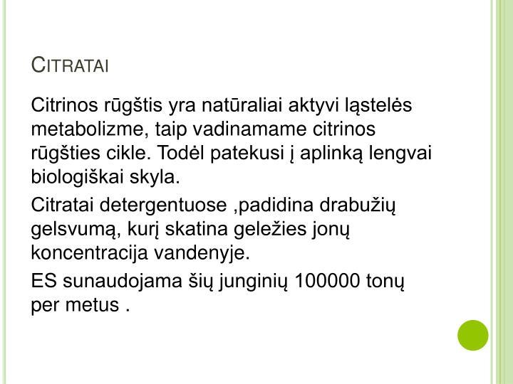 Citratai