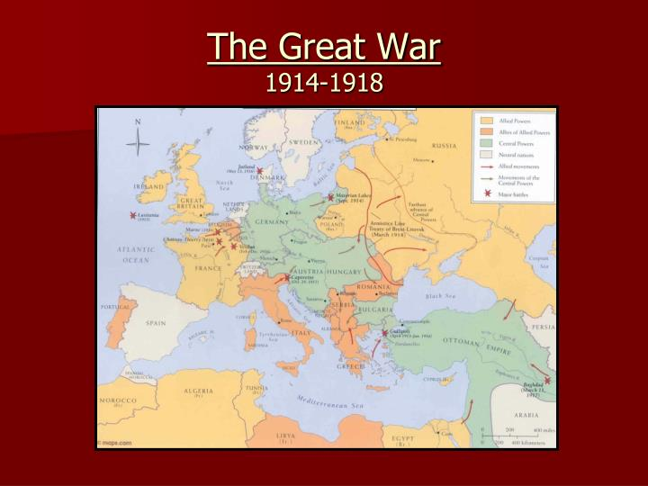 the great war 1914 1918 n.