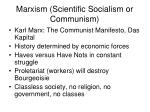 marxism scientific socialism or communism