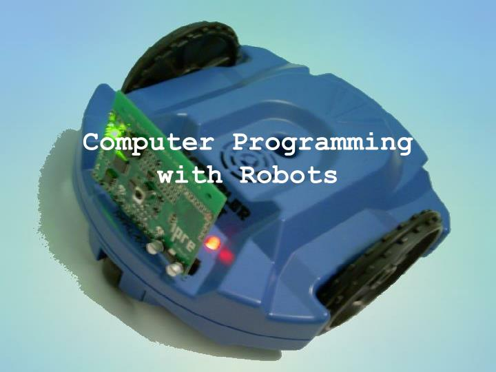 computer programming with robots n.
