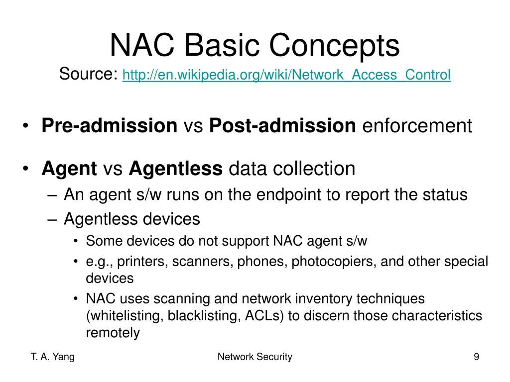 PPT - Network Access Control PowerPoint Presentation - ID