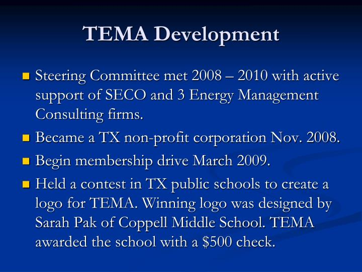 TEMA Development