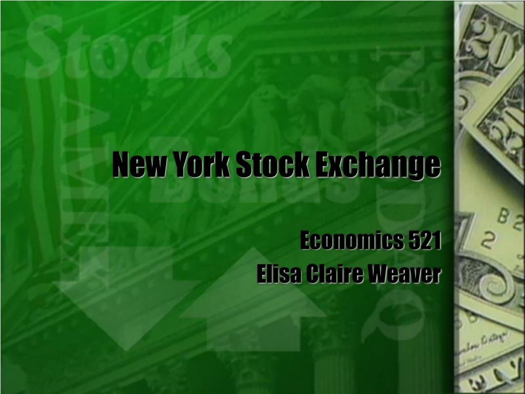 new york stock exchange l.