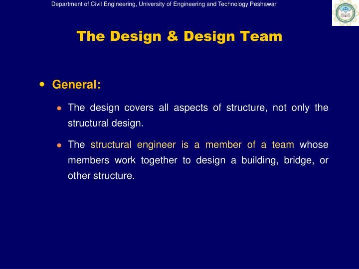 The Design & Design Team
