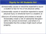 dignity for all students act3
