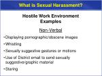 what is sexual harassment6
