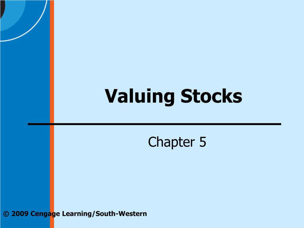 valuing stocks l.