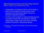 what engineers know and how they know it walter g vincenti johns hopkins press 1990