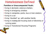 homelessness defined