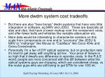 more dwdm system cost tradeoffs