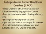 college access career readiness coaches cacr