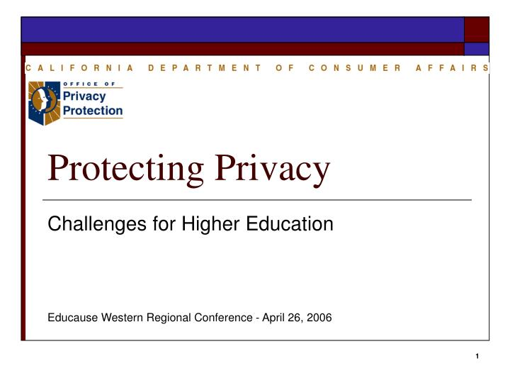 protecting privacy n.