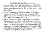 leshop ch case by jmd 2003