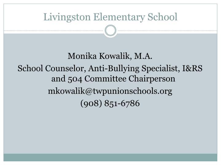 Livingston Elementary School