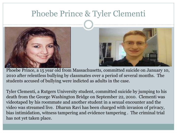 Phoebe Prince & Tyler Clementi