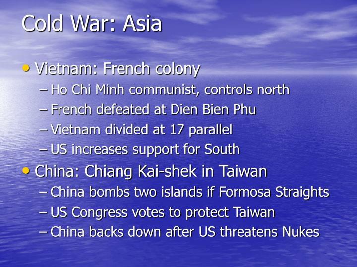 Cold War: Asia