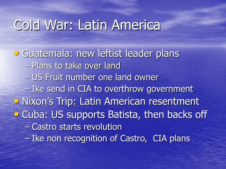 Cold War: Latin America